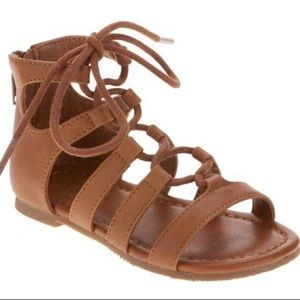 Faded Glory Toddler Ghillie Sandals